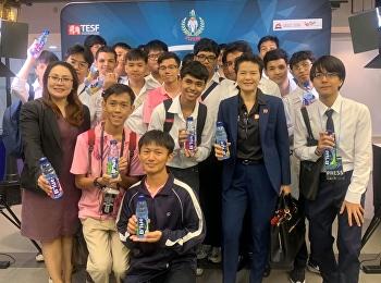 เข้าร่วมงานแถลงข่าวเปิดการแข่งไทยแลนด์อีสปอร์ตแชมป์เปียนชิป 2019 ที่ชั้น 5 โซนซี เอ็มบีเค ฮอล์ล กรุงเทพมหานคร